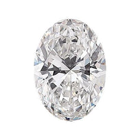 Loose Diamond 0.5 carat Oval Diamond - E/VS1 Natural Excellent Cut - AIG Certified