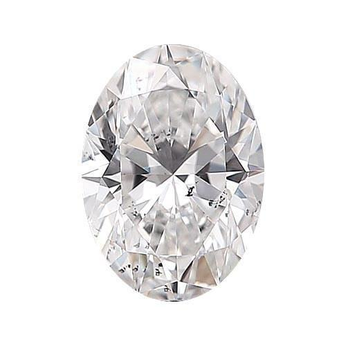 Loose Diamond 0.5 carat Oval Diamond - F/SI3 Natural Very Good Cut - AIG Certified