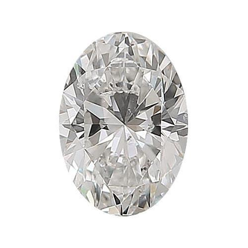 0.5 carat Oval Diamond - G/SI2 Natural Excellent Cut - TIG Certified - Custom Made
