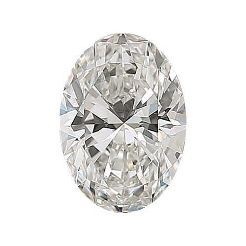 0.5 carat Oval Diamond - G/VS1 Natural Very Good Cut - TIG Certified - Custom Made