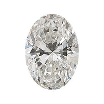 Loose Diamond 0.5 carat Oval Diamond - H/VS1 Natural Excellent Cut - AIG Certified
