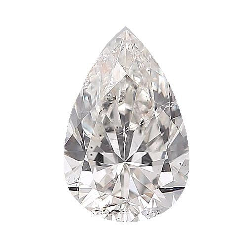 0.5 carat Pear Diamond - E/SI3 CE Excellent Cut - TIG Certified - Custom Made