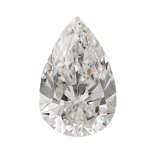 0.5 carat Pear Diamond - H/SI2 CE Excellent Cut - TIG Certified - Custom Made