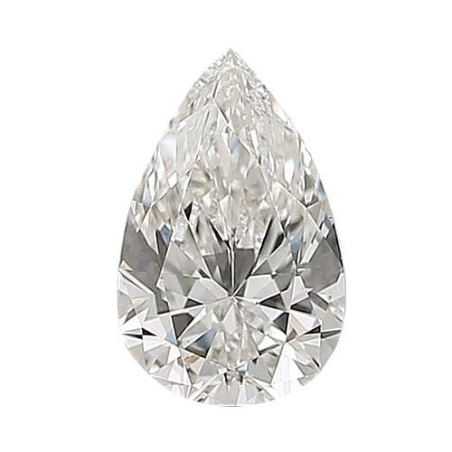 0.5 carat Pear Diamond - H/VS1 CE Very Good Cut - TIG Certified - Custom Made