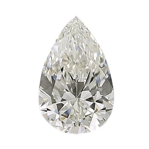 0.5 carat Pear Diamond - I/VS1 CE Excellent Cut - TIG Certified - Custom Made