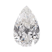 Loose Diamond 0.5 carat Pear Diamonds - D/VS1 Natural Excellent Cut - AIG Certified