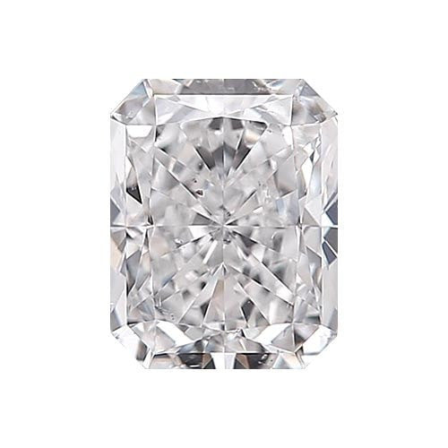 0.5 carat Radiant Diamond - D/SI1 Natural Very Good Cut - TIG Certified - Custom Made