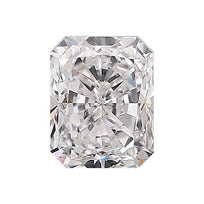 Loose Diamond 0.5 carat Radiant Diamond - D/SI2 Natural Excellent Cut - AIG Certified