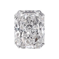 Loose Diamond 0.5 carat Radiant Diamond - D/VS1 Natural Excellent Cut - AIG Certified