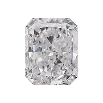 Loose Diamond 0.5 carat Radiant Diamond - D/VS2 Natural Very Good Cut - AIG Certified