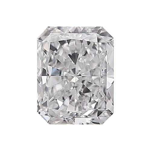 0.5 carat Radiant Diamond - E/VS2 Natural Very Good Cut - TIG Certified - Custom Made