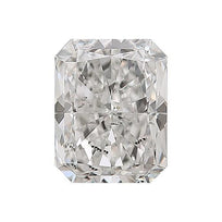 Loose Diamond 0.5 carat Radiant Diamond - G/I1 Natural Very Good Cut - AIG Certified