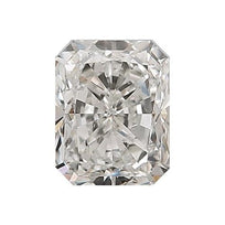 Loose Diamond 0.5 carat Radiant Diamond - G/SI2 Natural Very Good Cut - AIG Certified