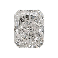 Loose Diamond 0.5 carat Radiant Diamond - G/SI3 Natural Very Good Cut - AIG Certified