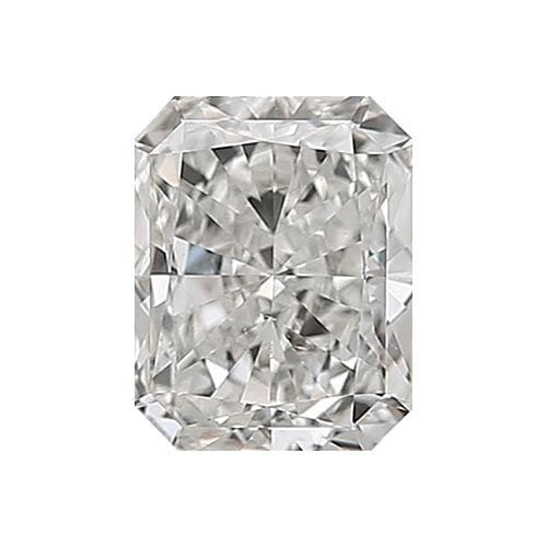 0.5 carat Radiant Diamond - G/VS2 Natural Excellent Cut - TIG Certified - Custom Made