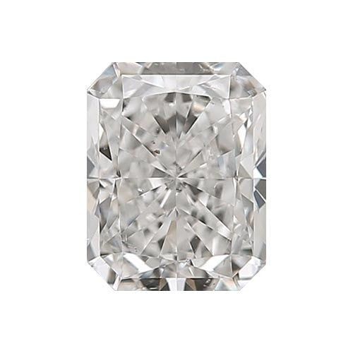 0.5 carat Radiant Diamond - H/SI1 Natural Very Good Cut - TIG Certified - Custom Made