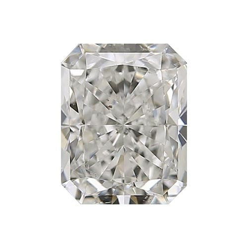 0.5 carat Radiant Diamond - I/SI1 CE Very Good Cut - TIG Certified - Custom Made