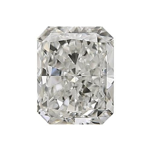 0.5 carat Radiant Diamond - I/VS2 CE Very Good Cut - TIG Certified - Custom Made