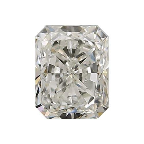 0.5 carat Radiant Diamond - J/SI2 CE Excellent Cut - TIG Certified - Custom Made