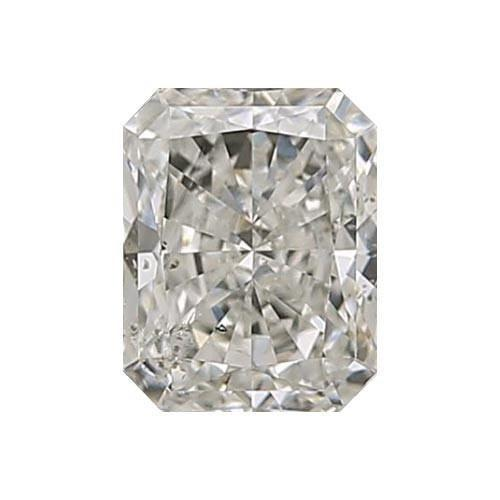 0.5 carat Radiant Diamond - J/SI3 CE Very Good Cut - TIG Certified - Custom Made