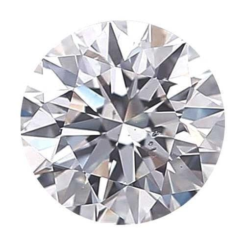 Loose Diamond 0.5 carat Round Diamond - D/SI1 CE Signature Ideal Cut - AIG Certified