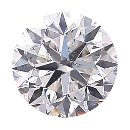 Loose Diamond 0.5 carat Round Diamond - F/SI2 CE Signature Ideal Cut - AIG Certified