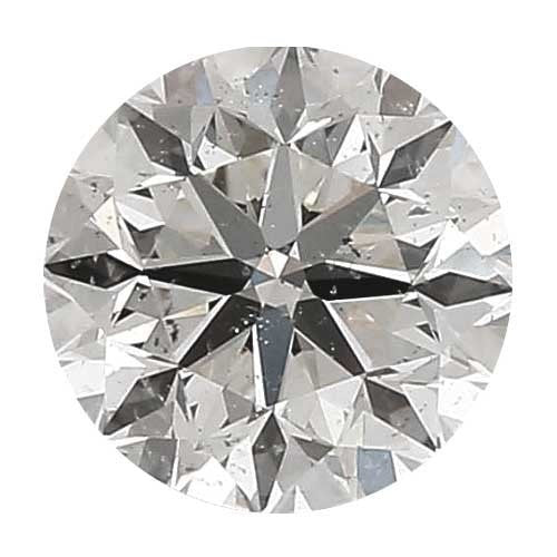 Loose Diamond 0.5 carat Round Diamond - H/SI3 CE Good Cut - AIG Certified
