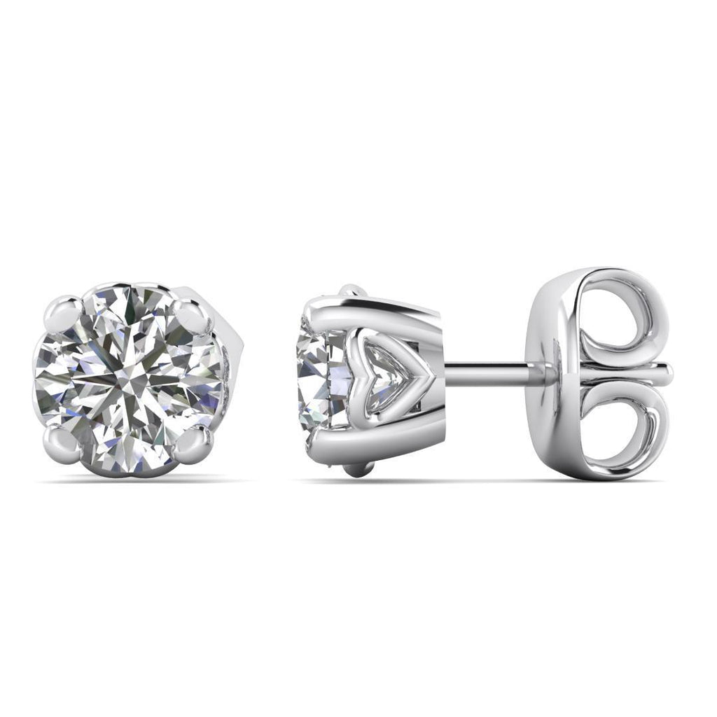0.50ctw E/SI1 Classic Stud Earrings - Limited Offer (5 Pairs Only) - Custom Made