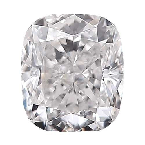 0.7 carat Cushion Diamond - D/VS1 Natural Excellent Cut - TIG Certified - Custom Made