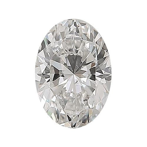 0.7 carat Oval Diamond - H/SI2 Natural Very Good Cut - TIG Certified - Custom Made