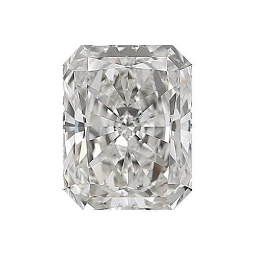 0.7 carat Radiant Diamond - H/VS1 Natural Very Good Cut - TIG Certified - Custom Made