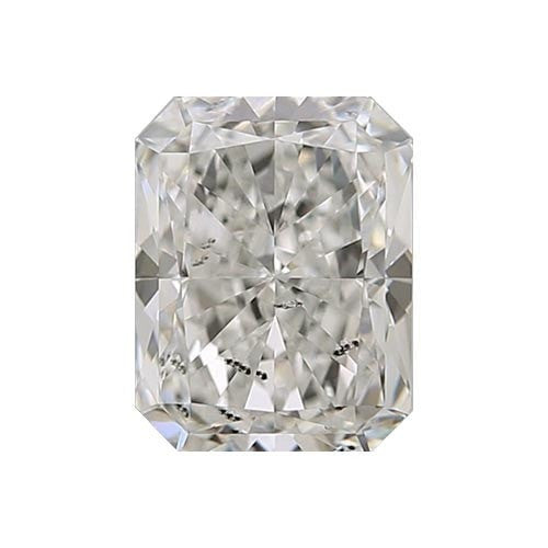 0.7 carat Radiant Diamond - J/I1 CE Excellent Cut - TIG Certified - Custom Made