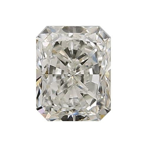 0.7 carat Radiant Diamond - J/SI2 CE Very Good Cut - TIG Certified - Custom Made
