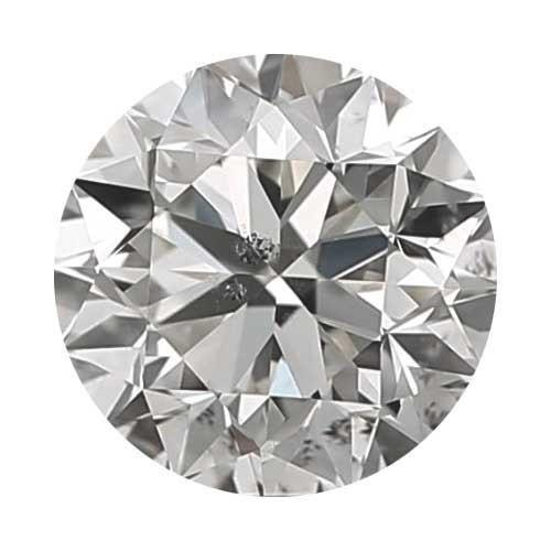 Loose Diamond 0.7 carat Round Diamond - H/I1 CE Very Good Cut - AIG Certified
