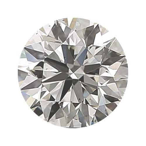0.9 carat Round Diamond - G/VS1 CE Good Cut - TIG Certified - Custom Made