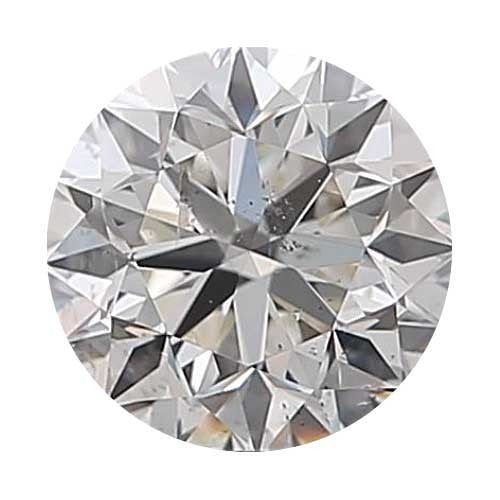Loose Diamond 0.9 carat Round Diamond - H/SI2 CE Good Cut - AIG Certified