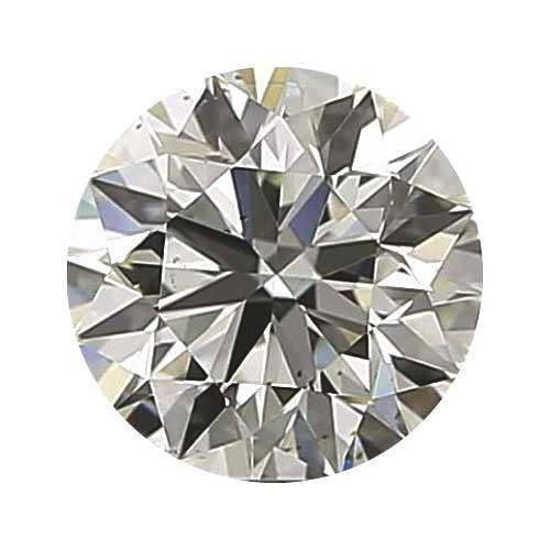 0.9 carat Round Diamond - I/VS1 CE Good Cut - TIG Certified - Custom Made