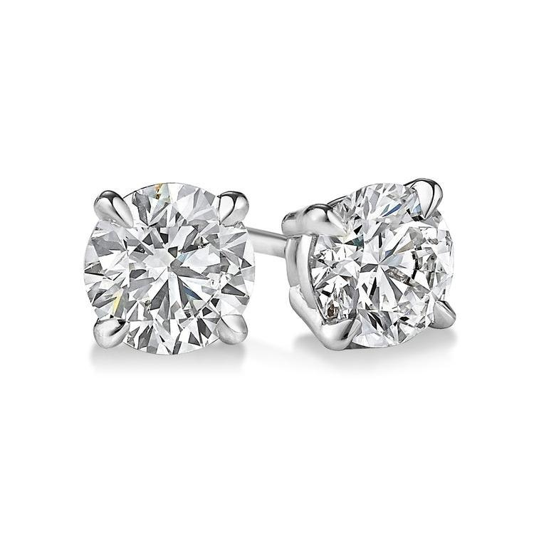 0.90ctw E/VS2 Classic Stud Earrings - Limited Offer (4 Pairs Only) - Custom Made