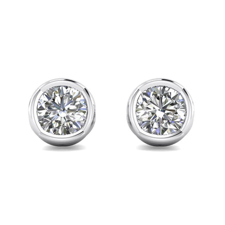 Daily Deal 1.00 carat E-SI2 Designer Stud Earrings