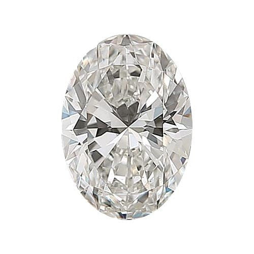 1 carat Oval Diamond - H/VS1 CE Very Good Cut - TIG Certified - Custom Made