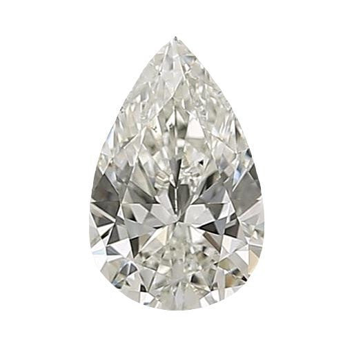 1 carat Pear Diamond - I/VS2 CE Very Good Cut - TIG Certified - Custom Made