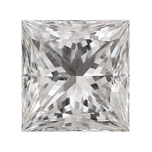 1 carat Princess Diamond - G/VS2 CE Very Good Cut - TIG Certified - Custom Made
