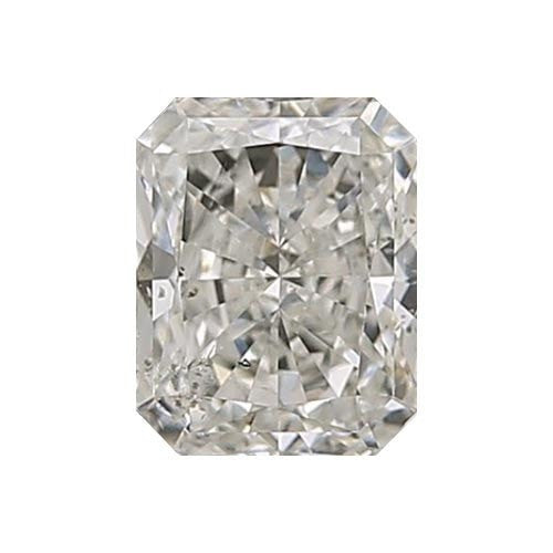 1 carat Radiant Diamond - J/SI3 CE Very Good Cut - TIG Certified - Custom Made