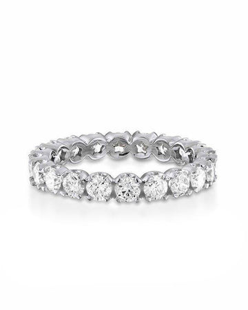 Sale 2.00 carat E-VS Star Design Full Eternity Anniversary Band