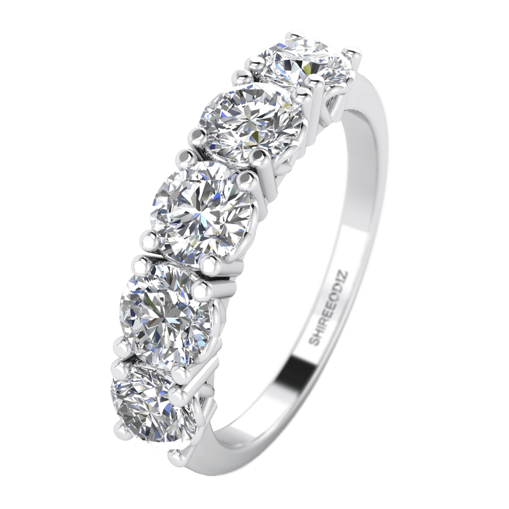 2.00ct 5-stone unique engagement ring | shiree odiz