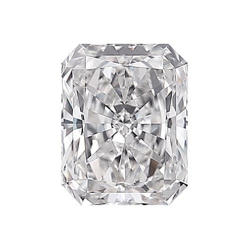 2 carat Radiant Diamond - F/VS1 Natural Excellent Cut - TIG Certified - Custom Made
