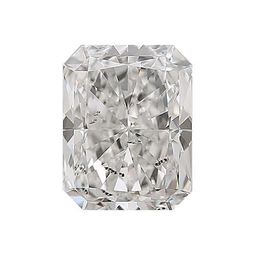 2 carat Radiant Diamond - G/I1 Natural Excellent Cut - TIG Certified - Custom Made