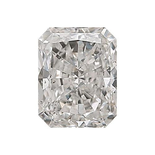2 carat Radiant Diamond - G/SI3 Natural Very Good Cut - TIG Certified - Custom Made
