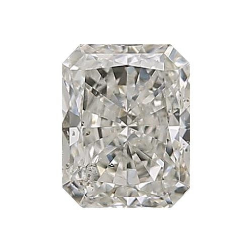 2 carat Radiant Diamond - I/SI3 CE Excellent Cut - TIG Certified - Custom Made