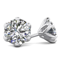 Earrings 4.05ctw E/SI2 Designer Stud Earrings - Limited Offer (1 Pair Only)